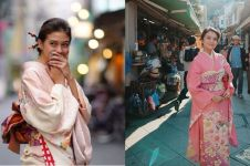 7 Adu gaya Yuki Kato & Michelle Ziudith yang berdarah Jepang