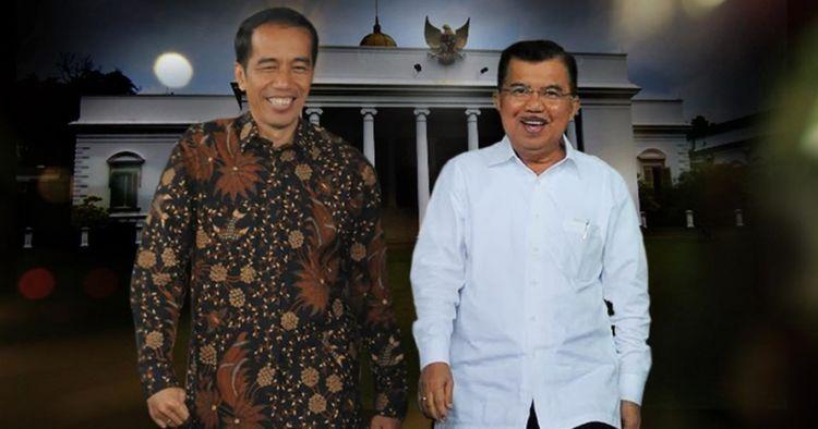 5 Momen perpisahan Jokowi-JK dan menteri Kabinet Kerja