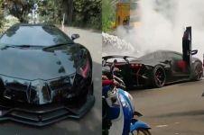 Ini 3 penyebab Lamborghini terbakar seperti milik Raffi Ahmad