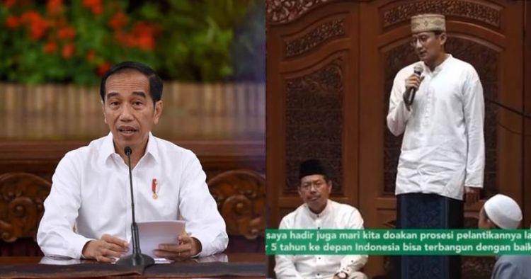 Sandiaga Uno akan hadiri pelantikan Jokowi-Ma'ruf, ini alasannya