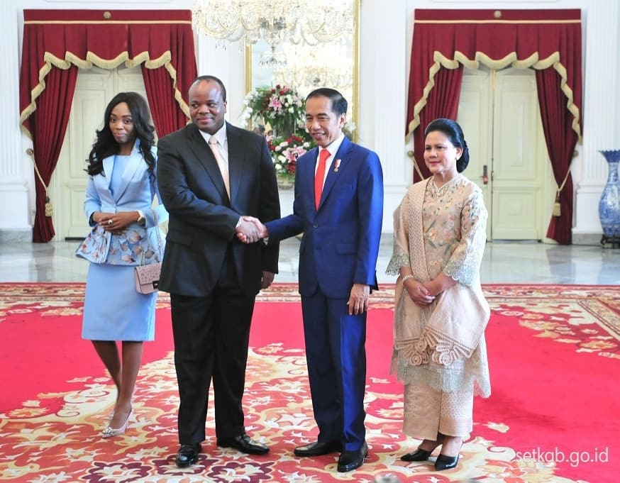 Jokowi sambut 5 kepala negara jelang pelantikan Instagram/@sekretariat.kabinet