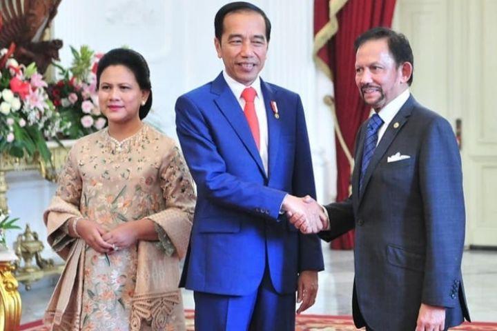 Momen Jokowi sambut 5 kepala negara jelang pelantikan