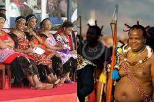4 Fakta Raja Swaziland Mswati III, punya 15 istri dan 23 anak