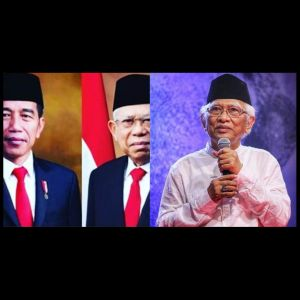 Jokowi-Ma'ruf dilantik, surat singkat Gus Mus menyejukkan hati