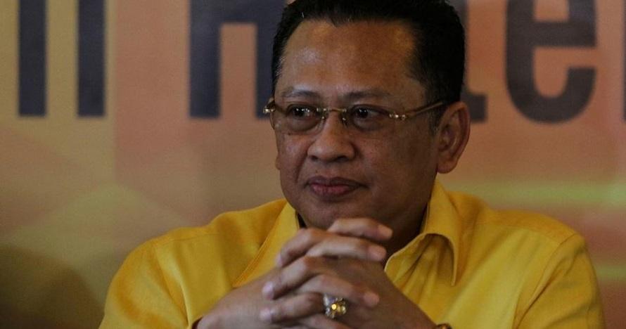Pantun ala Bambang Soesatyo di pelantikan Presiden, sebut Prabowo