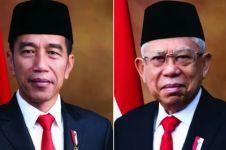 Sah, Jokowi-Ma'ruf resmi jadi Presiden dan Wapres RI
