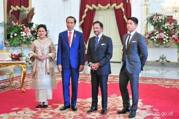 gaya anak kepala negara di pelantikan Jokowi-Amin © 2019 berbagai sumber
