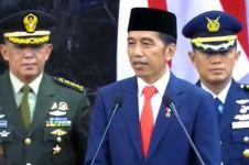 Resmi dilantik, Jokowi tutup pidato dengan peribahasa Bugis