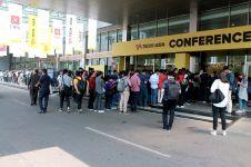Konferensi ini dipadati anak muda yang haus perkembangan teknologi