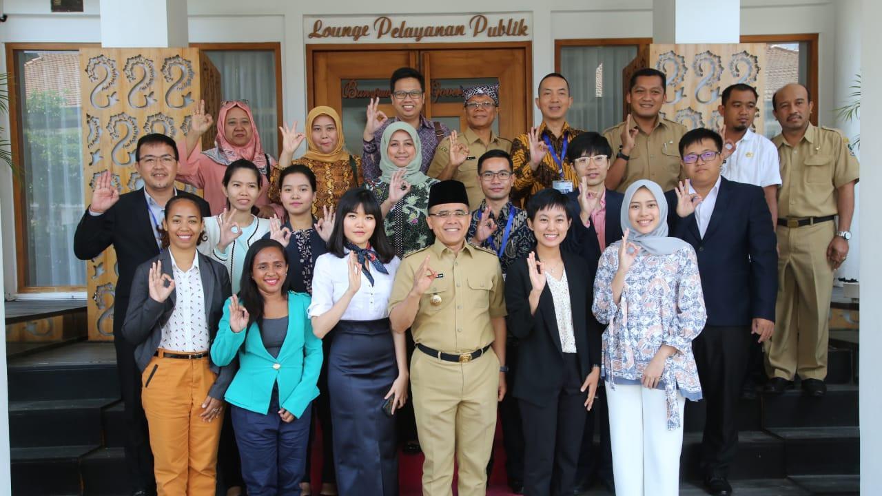 Sudah e-government, Banyuwangi kedatangan Diplomat Junior ASEAN