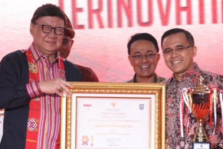 Banyuwangi kembali jadi Kabupaten terinovatif se-Indonesia