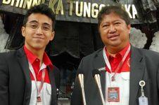 Fakta mikrofon emas pelantikan presiden, buatan adik Vidi Aldiano