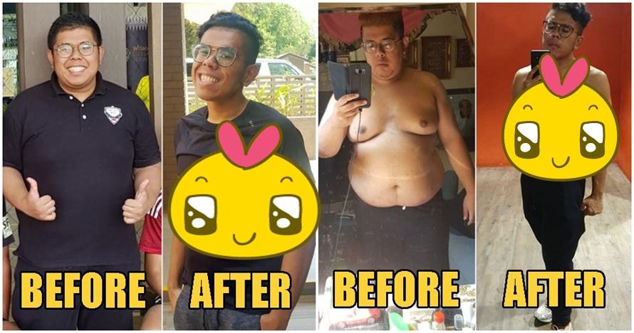 Pemuda ini berhasil turunkan bobot 41 kg dalam 7 bulan