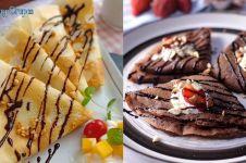 11 Cara membuat crepes enak, mudah dibuat, dan antigagal