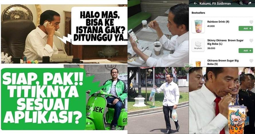 10 Meme lucu Nadiem Makarim masuk kabinet Jokowi-Ma'ruf