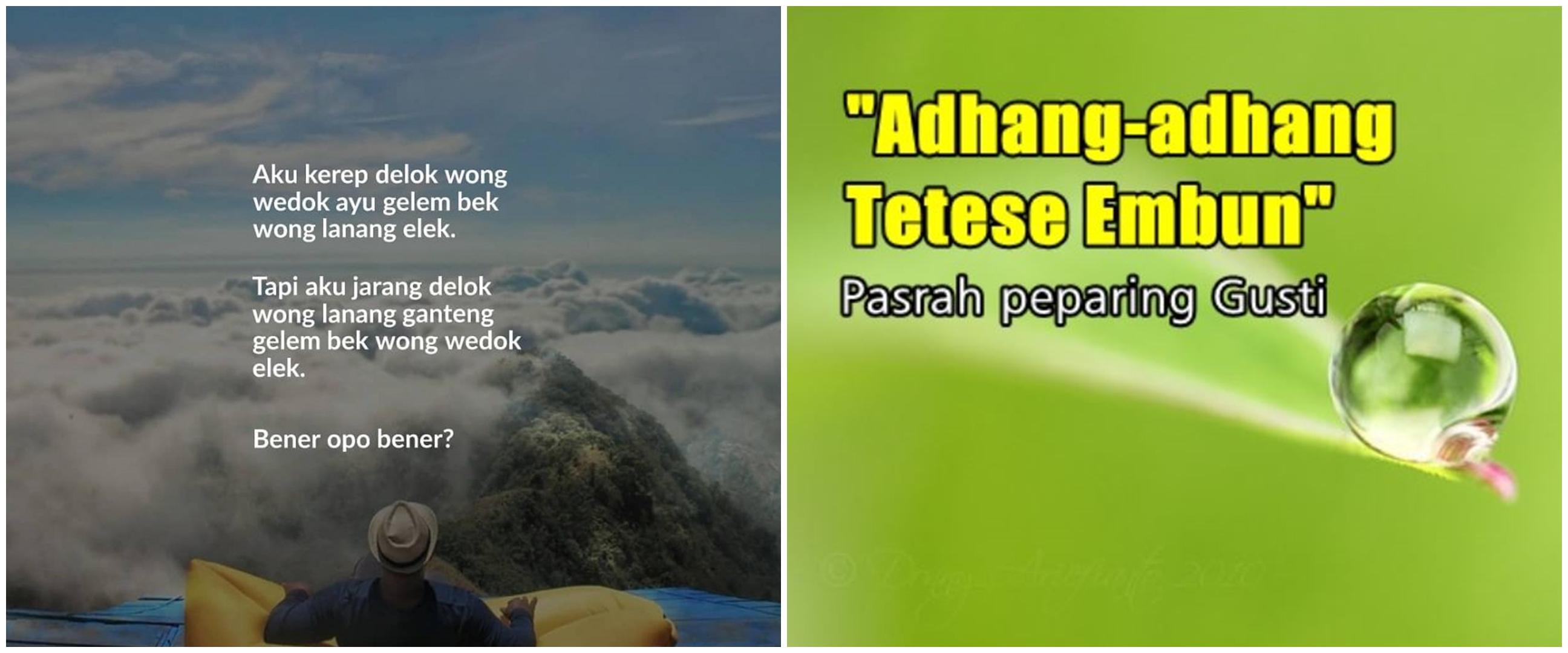 103 Kata-kata bijak bahasa Jawa tentang kehidupan, penuh motivasi