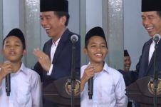 Dulu viral, santri sebut Prabowo menteri Jokowi jadi kenyataan