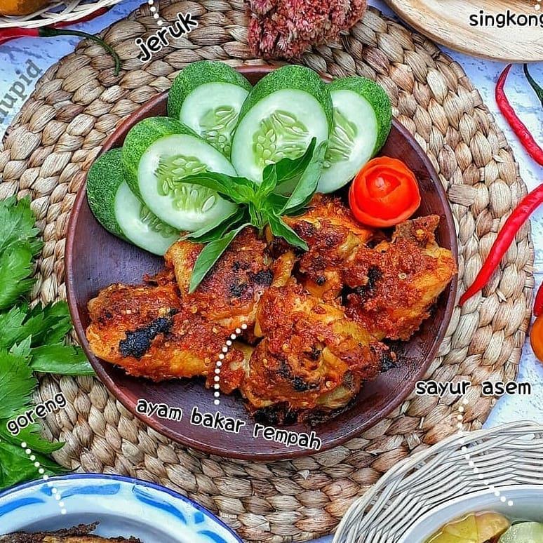 14 Resep cara membuat ayam bakar Instagram/@1001resepandalan   @siska_dewi_lestari