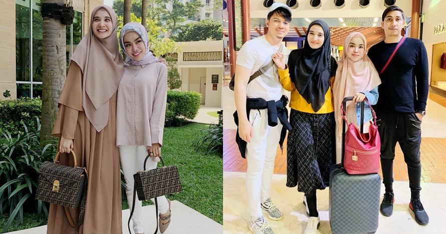 11 Potret kompak Medina Zein & Zaskia Sungkar, kini berseteru