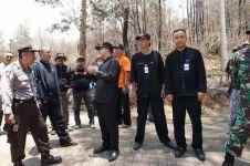 Anas minta BNPB gunakan water bombing atasi kebakaran Ijen
