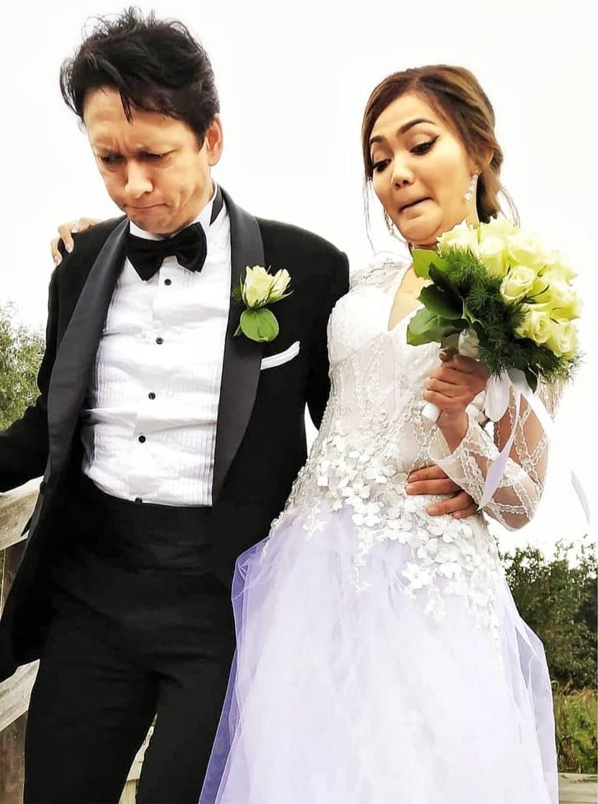 foto pernikahan rina © 2019 brilio.net