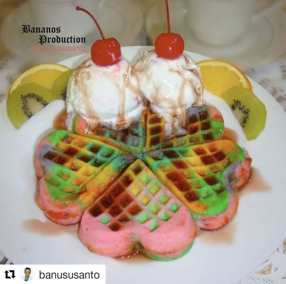 12 Resep dan cara membuat waffle, enak dan lembut Instagram/@alfilianurprimal  @kumpulanresepmasak