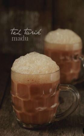 membuat teh tarik istimewa