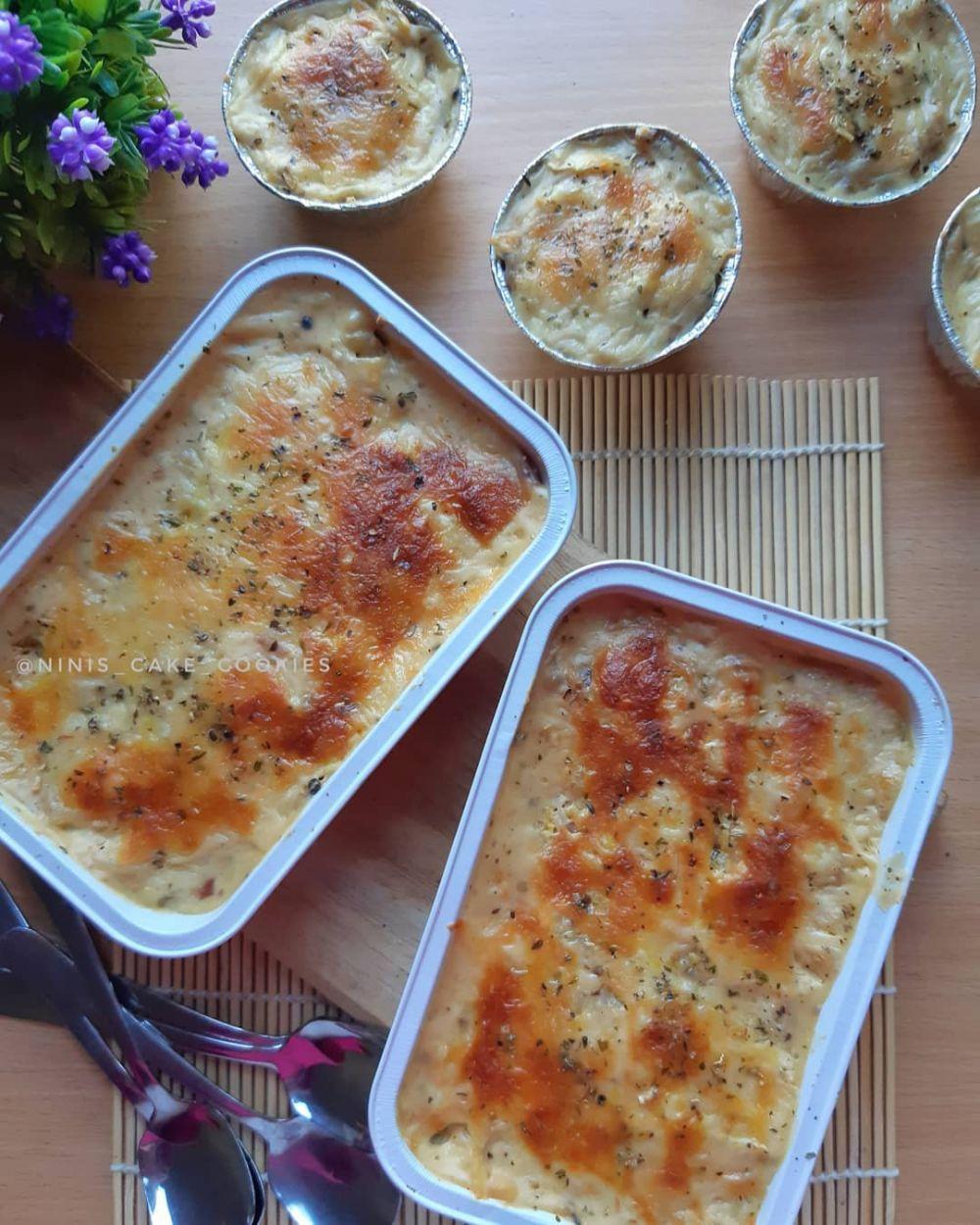 7 Cara membuat macaroni schotel Instagram/@mari.kita.masak @ninaanggita