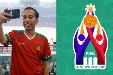 Indonesia tuan rumah Piala Dunia U-20 2021, begini reaksi Jokowi
