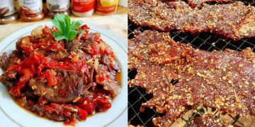 10 Resep dan cara membuat dendeng sapi enak dan empuk