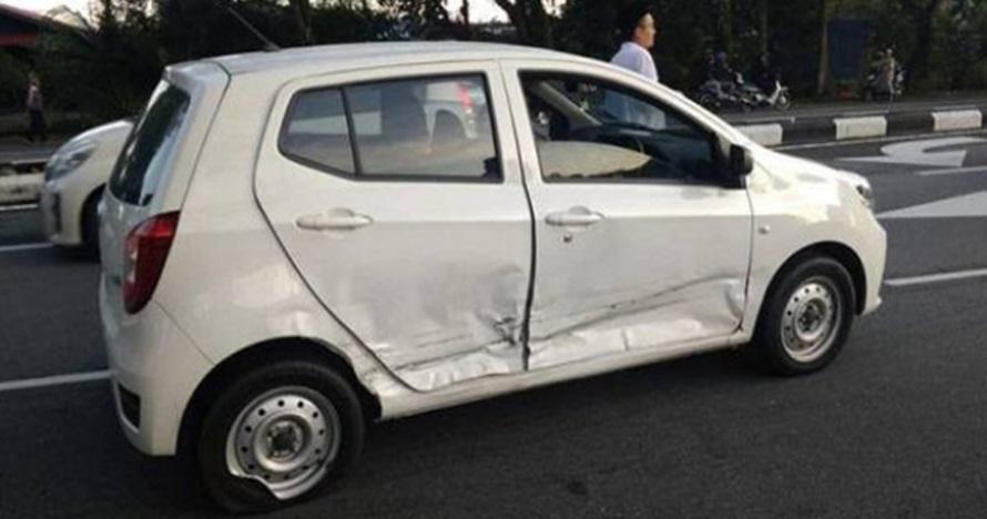 Alami kecelakaan mobil, cewek ini temukan foto misterius