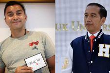 Aksi Anjasmara ikuti gaya duduk silang Jokowi, jadi sorotan