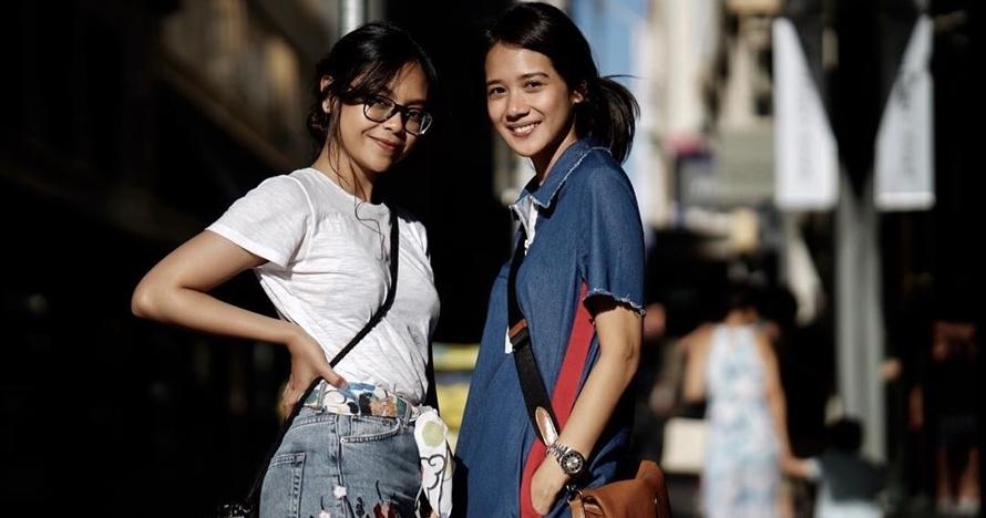10 Momen kedekatan Gista Putri & Sakina Tama, bak kakak-adik