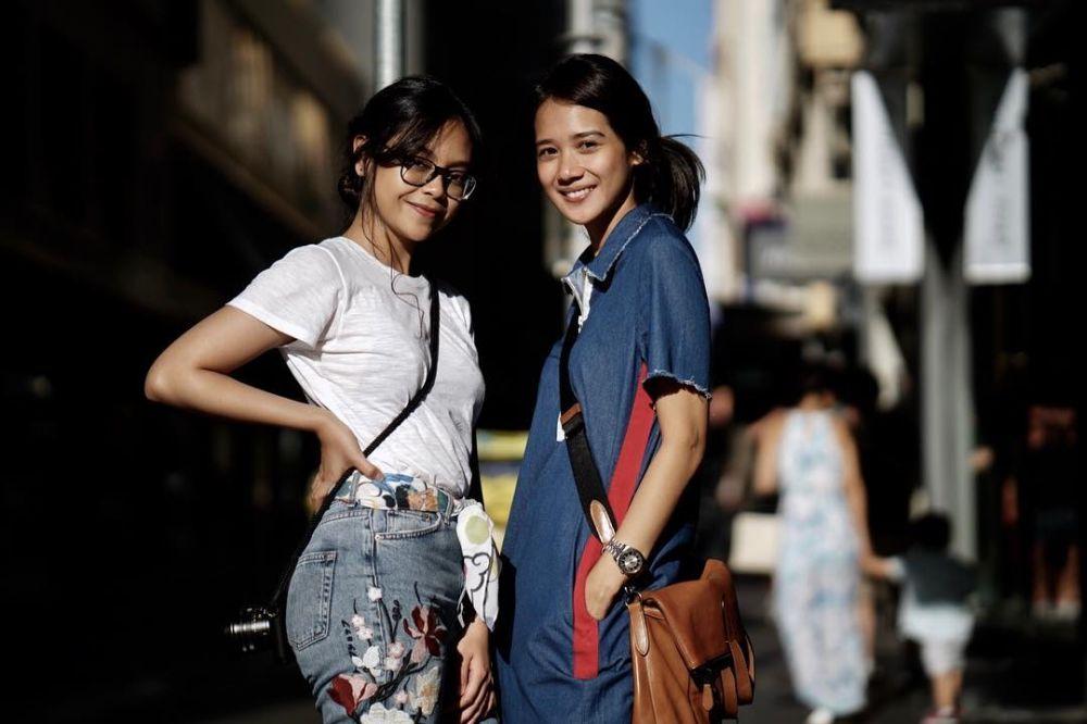 Gista Putri dan Sakina Tama Instagram