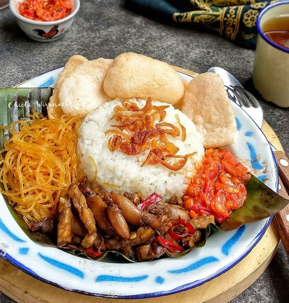 Cara membuat nasi uduk Instagram/@numpangsaveresep.id  @hijabgaleri