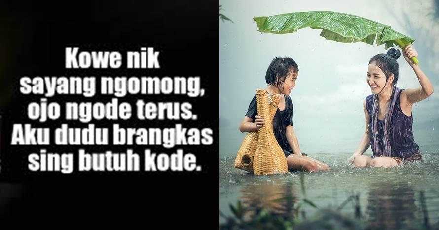 40 Kata-kata lucu bahasa Jawa, menggelitik dan bikin ngakak