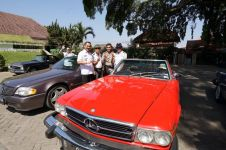 Mercedes-Benz SL Club main ke Banyuwangi, kagum dengan alam