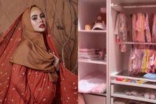 7 Potret kamar anak Kartika Putri yang baru lahir, serba pink