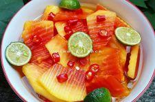 5 Cara membuat manisan pepaya enak, segar, dan praktis