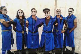 Biasa bermakeup, ini wajah asli 6 personel Kuburan Band