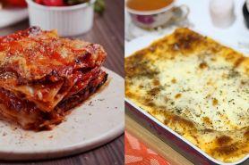 8 Resep dan cara membuat lasagna lumer dan sederhana