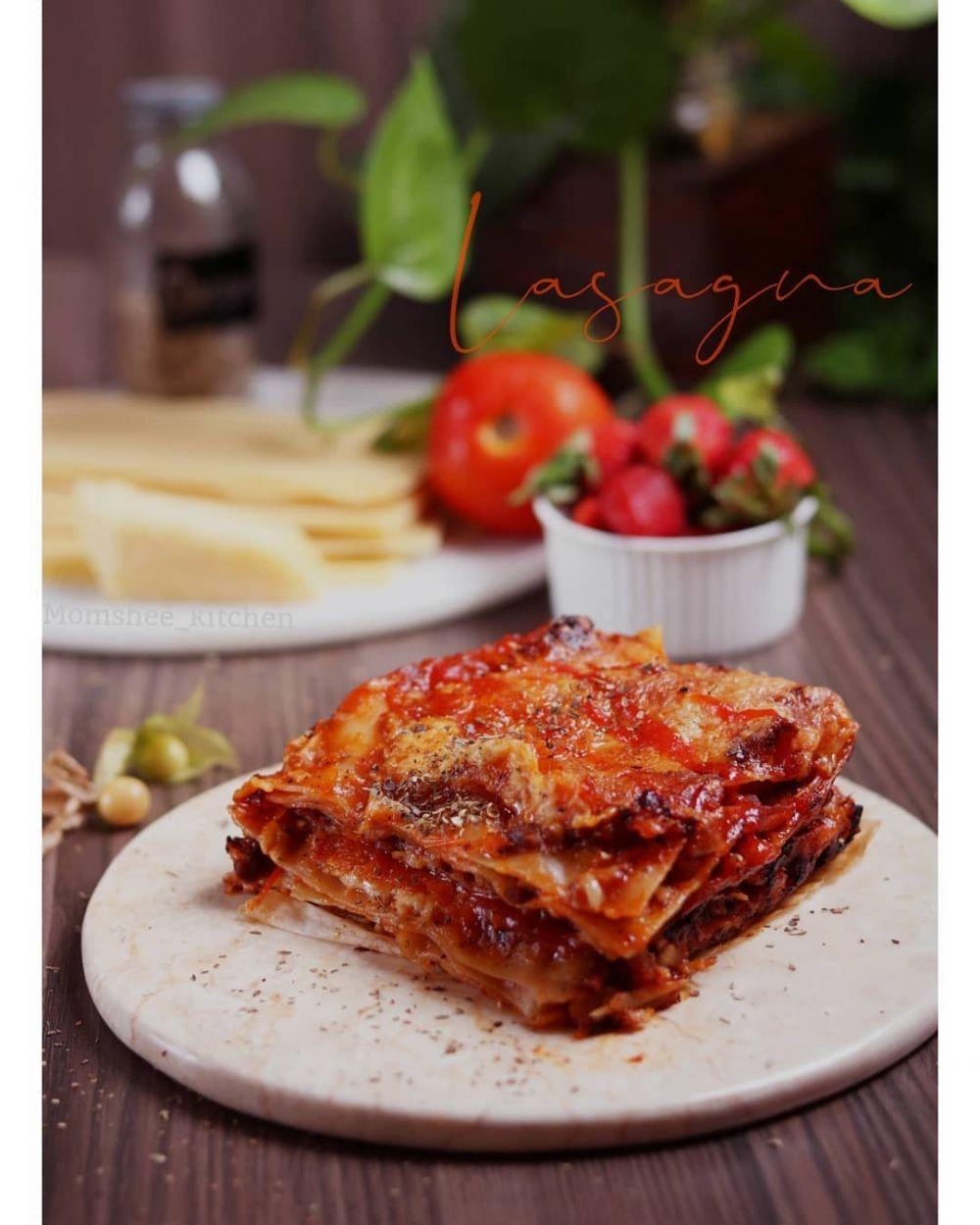 Resep dan cara membuat lasagna Instagram