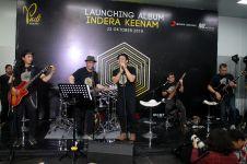 Menhub Budi Karya ngeband bareng Padi Reborn, bikin heboh stasiun MRT
