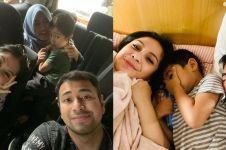 Ketiduran di mobil, gaya stylish Nagita Slavina jadi sorotan