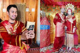 Foto pakai baju adat Minang, gaya Nagita Slavina tuai sorotan