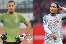 7 Pesepak bola Indonesia ini mirip pemain Eropa, ada kembaran Van Dijk
