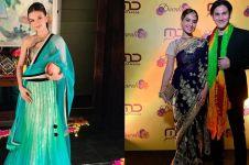 Adu gaya 10 seleb Tanah Air hadir di acara Diwali, memesona