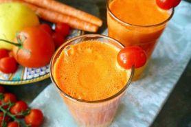11 Cara membuat jus tomat enak, sehat, dan praktis