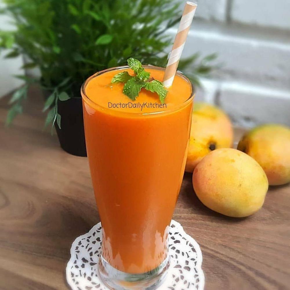 9 Cara membuat jus mangga enak Instagram/@bosenkurus.id cookpad.com