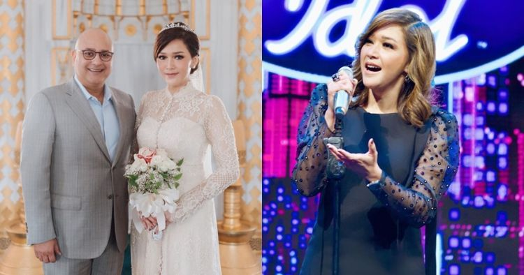 Ultah pernikahan, Maia persembahkan lagu untuk Irwan Mussy